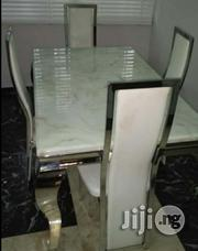 Quality Imported Four Seater Marble Dining Table | Furniture for sale in Lagos State, Yaba
