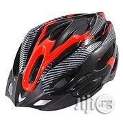 Generic Generic Cycling Bicycle Adult Bike Safe Helmet Carbon Hat With Visor 19 Holes Red | Sports Equipment for sale in Abuja (FCT) State, Bwari