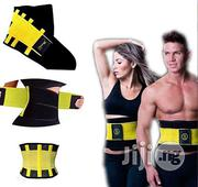 Fashion Hot Power Waist Trainer, Body Shapers and Slimming Belt- Yellow | Clothing Accessories for sale in Lagos State, Lagos Mainland