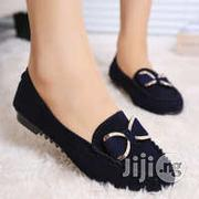 Deep Blue Spring Peas Flat Sole With Flat Shoes | Shoes for sale in Lagos State, Ikeja