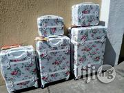 5 Set White Travel Trolley With Four Wheel | Bags for sale in Lagos State, Ikeja