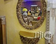 Gold Conso Mirror Special Design From Turkey | Home Accessories for sale in Lagos State, Lekki Phase 1