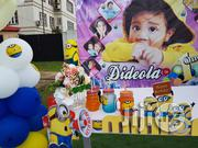 Minion Themed Cake Arena Setup By Ellehbeylowh Events | Party, Catering & Event Services for sale in Lagos State, Lekki Phase 1