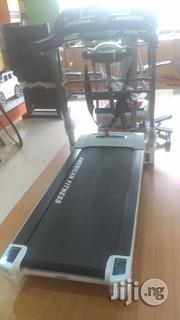 American Fitness 2.5HP Treadmill With Massager,Incline,Mp3 and Dumbbel | Sports Equipment for sale in Lagos State, Surulere