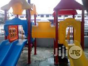 Children Double Playhouse With Slide And Swings | Toys for sale in Lagos State, Ikeja