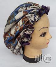 Bluevintage Rosyedged Reversible Satin Bonnet - Sleep Hair Cap | Clothing Accessories for sale in Lagos State, Surulere