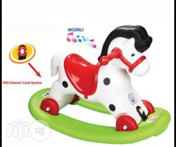 Rocking Horse And Bouncer