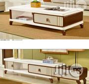 A First Class Royal Set Of Tv Shelve & Center Table,With Drawers | Furniture for sale in Lagos State, Ajah