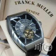 Franck Muller Geneve Leather Wristwatch   Watches for sale in Lagos State, Oshodi-Isolo
