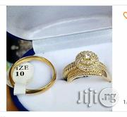 Couples Crown Set Of Wedding And Engagement Ring - Gold | Jewelry for sale in Lagos State, Ikeja
