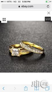 Wedding Couple Ring Engagement Rings Set (2 Pcs) | Wedding Wear for sale in Rivers State, Port-Harcourt