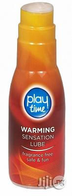 Playtime Warming Sensation Lubricant 75ml | Sexual Wellness for sale in Lagos State, Surulere