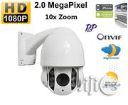 HD 2mp 1080p 5x Zoom Ip Ptz Outdoor Ir High Speed Dome Camera | Security & Surveillance for sale in Lagos State, Ikeja