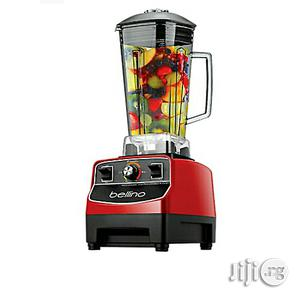Bellino 1500w Power Pro Blender Smoothie 2L Red Heavy Duty Commercial