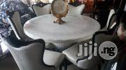 White Marble Dining by Six | Furniture for sale in Rivers State, Port-Harcourt