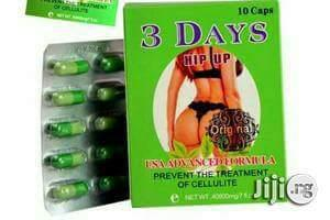 3days Hipup Tablet Butt And Hip Enlargement (4 Packs Wit Powder)