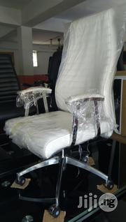 Executive Office Chair(White).   Furniture for sale in Lagos State, Lekki Phase 1