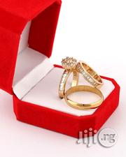 Dante Gold Wedding Ring Set- 18karat Gold Plated | Jewelry for sale in Lagos State, Maryland