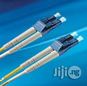 LC-LC Duplex Single Mode Fibre Optics Patch Cable-yellow 30M | Accessories & Supplies for Electronics for sale in Lagos State, Ikeja