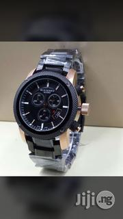 Burberry Sport Black Crystal Chain Chronograph Watch   Watches for sale in Lagos State, Surulere