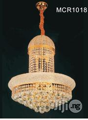 Quality Crystal Chandelier Light With Led and Bulb | Home Accessories for sale in Lagos State, Ojo