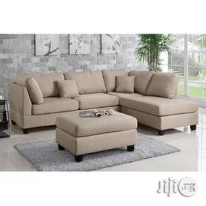 Dand Reversible Sectional Sofa With Free Ottoman