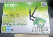 300 Mbps Wireless N PCI Express Adapter TP LINK   Computer Accessories  for sale in Lagos State, Ikeja