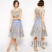 Mesh Party Vintage Princess Tutu Dress Women Hollow Party Dresses | Clothing for sale in Lagos State, Ikeja