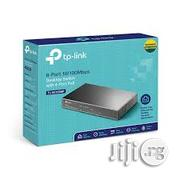 Tp-link 8-port 10/100mbps Desktop Switch With 4-port POE SF1008P | Networking Products for sale in Lagos State, Ikeja
