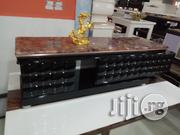 A Top Executive First Class Tv Shelve With Double Drawer | Furniture for sale in Lagos State, Magodo