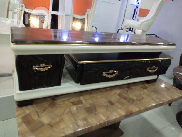 A Brand New High Quality Executive Tv Shelve With Double Drawer