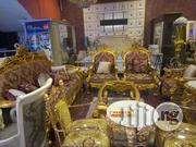Egyptian Royal Sofa Chair, With Center And Stools | Furniture for sale in Lagos State, Lekki Phase 1