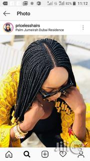 Braid Wig With Center Weaving | Hair Beauty for sale in Lagos State, Ojo