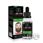 Organic Natural Beard Growth Oil Aloe Power | Hair Beauty for sale in Lagos State, Ikeja