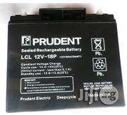 12V 18ah Prudent Deep Cycle Battery   Solar Energy for sale in Lagos State, Ikeja