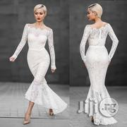 Long Sleeve Fishtail One-piece Lace Dress Female Fashion   Wedding Wear for sale in Lagos State, Ikeja