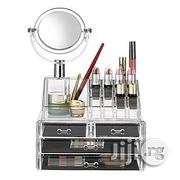 4 Drawer Acrylic Makeup Bag Cosmetic Organizer Storage Box | Bags for sale in Lagos State, Lagos Island