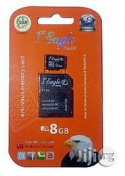 Eagle 8GB Class 10 Microsd Memory Card With Adapter | Accessories for Mobile Phones & Tablets for sale in Lagos State, Ikeja