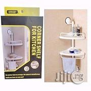 Bathroom And Kitchen Corner Shelf - White | Furniture for sale in Lagos State, Lagos Island