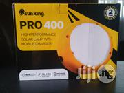 Pro 400- 440 Lumens, 4,400 Mah Battery + USB Charging Port   Solar Energy for sale in Lagos State, Lagos Island