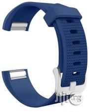Replacement Watch Band Strap Watchband For Fitbit Charge 2 Watch Dark Blue | Smart Watches & Trackers for sale in Lagos State, Agboyi/Ketu