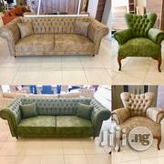 Leather Fabric Chesterfield Sofa Set | Furniture for sale in Abuja (FCT) State, Mabushi