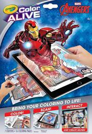 Crayola Avengers Colour Alive Interactive Colouring Book | Books & Games for sale in Lagos State, Surulere