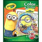 Crayola Colour and Sticker Pages - Minions | Babies & Kids Accessories for sale in Lagos State, Surulere