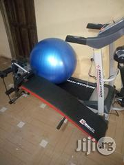 2hp American Fitness Treadmill With Situp Bench and Gym Ball | Sports Equipment for sale in Enugu State, Enugu
