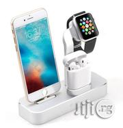 3 in 1 Multifunctional Desktop Charging Station | Accessories for Mobile Phones & Tablets for sale in Lagos State, Ikeja