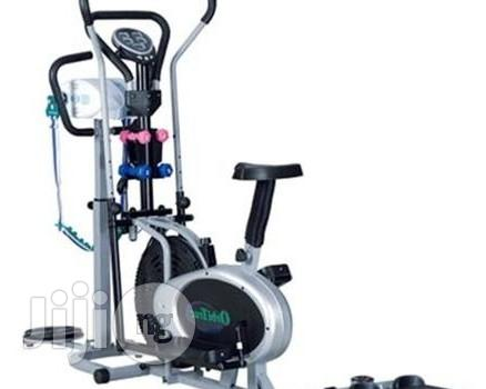 Exercise Bike With Massager