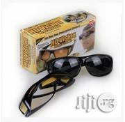 Double HD Vision Wraparounds Wrap Around Glasses | Clothing Accessories for sale in Lagos State, Ikeja