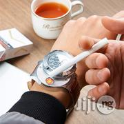 Men Metal Wrist Watch Quartz Windproof Electronic Cigarette Lighters   Watches for sale in Lagos State, Ikeja