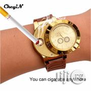 Wrist Watch Quartz Windproof Electronic Cigarette Lighters | Watches for sale in Lagos State, Ikeja